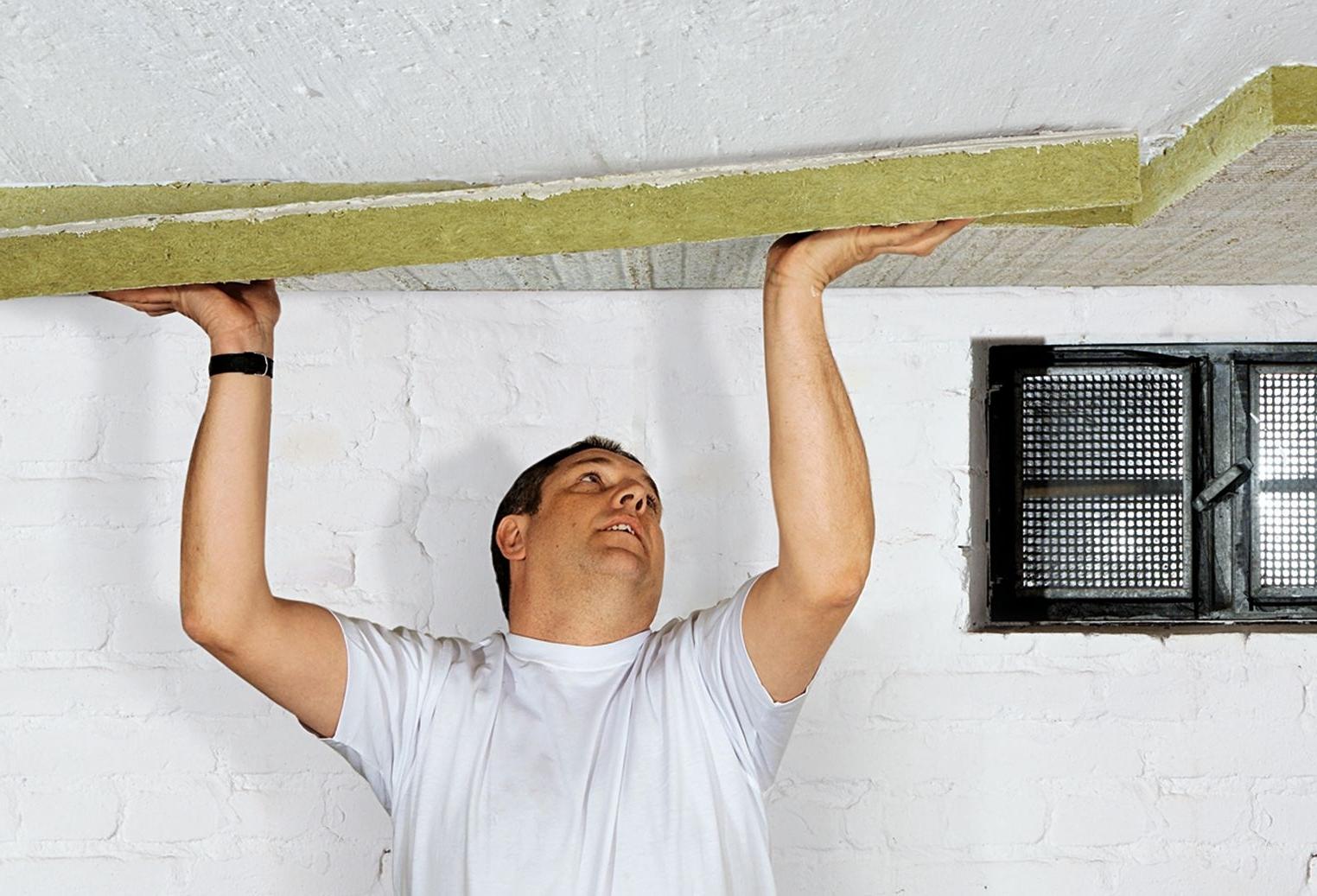 Утепление потолок в своем доме своими руками