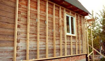 утепление деревянного дома из бруса