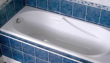 замена старой ванны