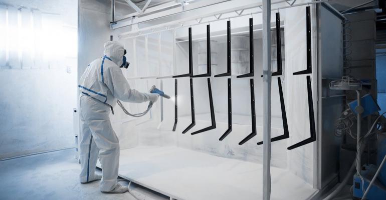 Экопласт предлагает порошковую покраску алюминиевого профиля