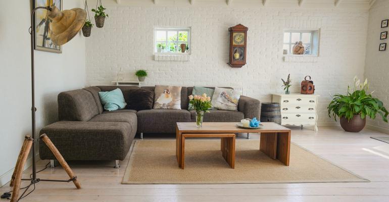 Цвет мебели в интерьере